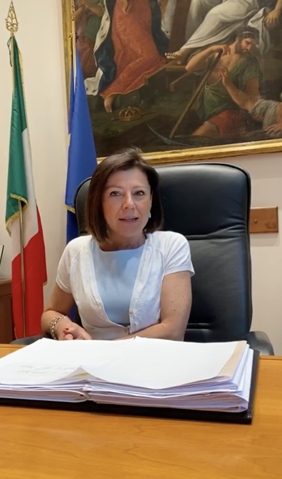 Il saluto del Ministro, On. Paola De Micheli, ai Piloti italiani - VIDEO